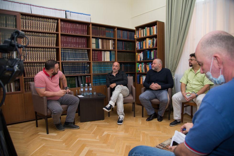 Захар Прилепин, Александр Бабаков, Николай Новичков и Александр Казаков посетили Челябинскую область