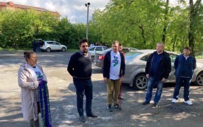 Сторонники Челябинского отделения партии ЗА ПРАВДУ встретились с представителями Городского совета ветеранов в Златоусте
